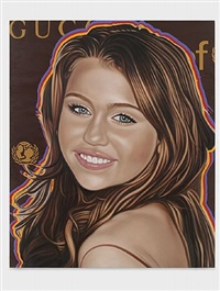 miley cyrus by richard phillips