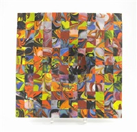 mosaic plate by klaus moje