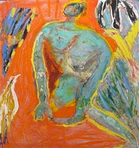promethian figure by george j. mcneil