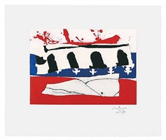 french revolution bicentennial suite iii (cr384) by robert motherwell