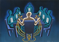 current exchange by mark kostabi