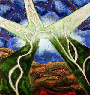 woodbine #8 (green vision) by gregory amenoff