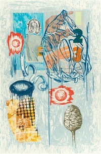 high and wide (from high and low series) by david salle