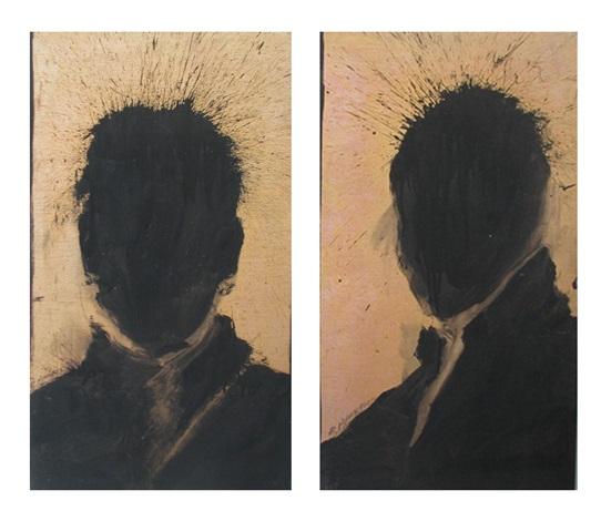 untitled heads 2 works by richard hambleton