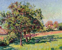 verger à mirgaudon by armand guillaumin
