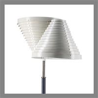 floor lamp, a 810 by alvar aalto