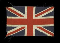 union flag 3 (black) by peter blake