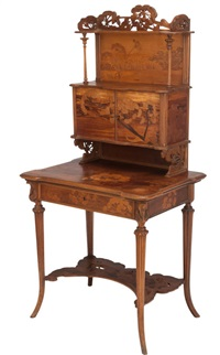 lady's writing desk by émile gallé
