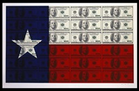 $100 texas flag by steven gagnon