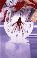 the hole in the center of the clock: time keeper by james rosenquist