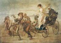 the courtesan's chariot by thomas couture