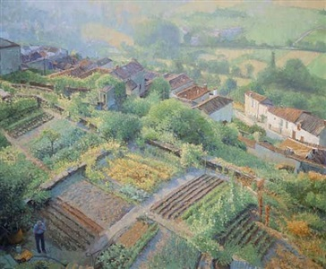 cordes sur ciel in the spring by nicholas verrall