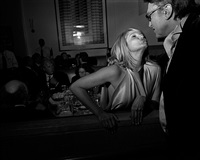 oscar party, ellen barkin, los angeles, february, 2004 by larry fink