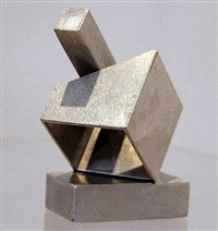 silver cube by jane manus