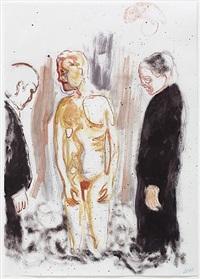 untitled (drei figuren) by daniel richter