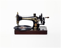 sewing machine with record by nancy fouts