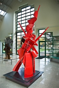 c-19313-35, clay center model by albert paley