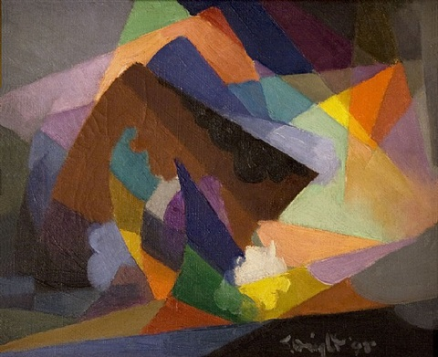 la tempête by stanton macdonald-wright