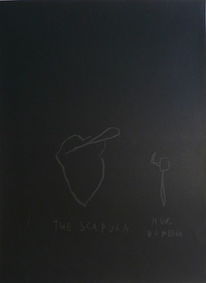 the scapula by jean-michel basquiat