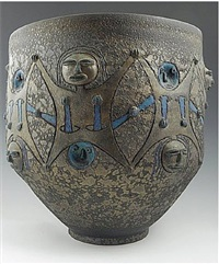 vessel with figures by edwin and mary scheier
