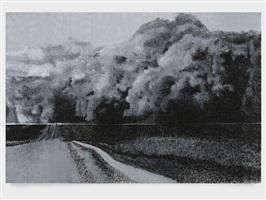 1934 mid-west dust storm by robert morris