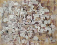 the imaginary village by mark tobey