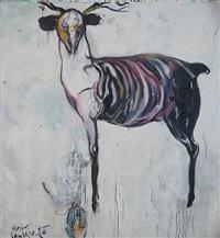 venao hambriento (sold) by carlos quintana