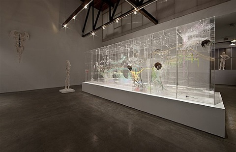 installation view by david altmejd