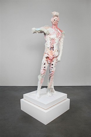 untitled 1 (bodybuilders) by david altmejd