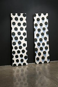 wall slab pair by jun kaneko