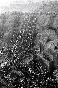 the gold mine, serra pelada, brazil by sebastião salgado