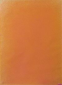 bright orange #6 by jules olitski