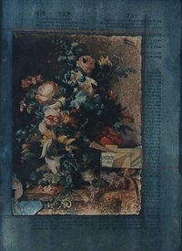 untitled (bouquet of flowers) by joseph cornell