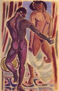 la pareja by wifredo lam