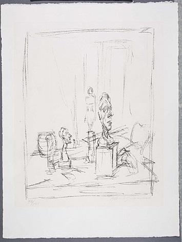 the studio by alberto giacometti