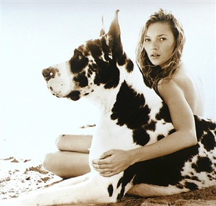 kate moss by herb ritts