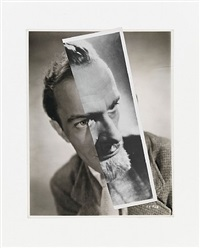 he (film portrait collage) ii by john stezaker