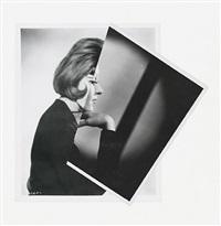 she (film portrait collage iii) by john stezaker