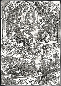st. john before god and the elders by albrecht dürer