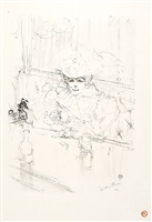 au hanneton (in the hanneton) by henri de toulouse-lautrec