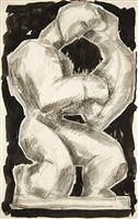 hero and leander by richard pousette-dart