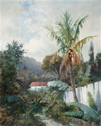 tropical landscape by william h. hillard