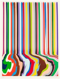 etched lines: thirty six by ian davenport
