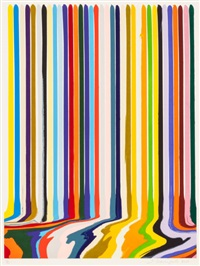 etched lines: thirty five by ian davenport