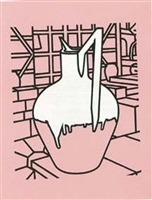 jug (pink) by patrick caulfield