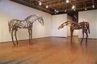 seven bronze sculptures: june 2 - july 30, 2011 by deborah butterfield