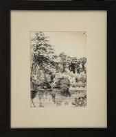 the creek at hogencamps by edward hopper