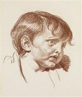 portrait d'un jeune enfant by jean baptiste greuze