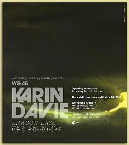 karin davie: shadow days