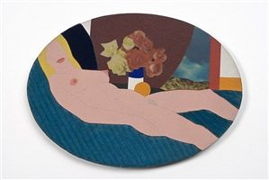 nude collage by tom wesselmann
